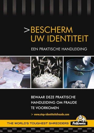 BESCHERM UW IDENTITEIT - Fellowes