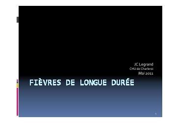 Dr J-C Legrand - Les Jeudis de Fleurus