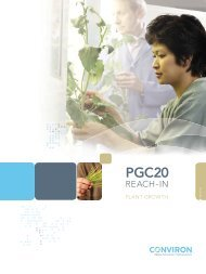 PGC20 Reach-In Plant Growth Chamber - Thermo Fisher