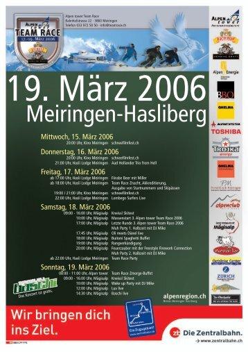 Team Race Meiringen-Hasliberg