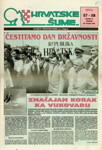 HRVATSKE ŠUME 57-58 (20.5.1996.)