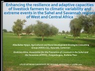 Enhancing the resilience and adaptive capacities of ... - LiFLoD