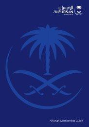 Alfursan Membership Guide - Saudi Arabian Airlines