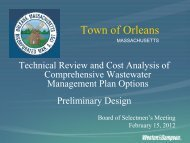 Weston & Sampson Presentation to Board of ... - Town Of Orleans