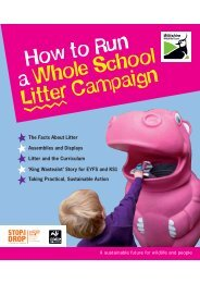 How to Run a Whole School Litter Campaign - Wiltshire Wildlife Trust