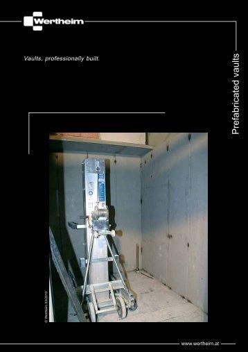 Prefabricated vaults - Wertheim
