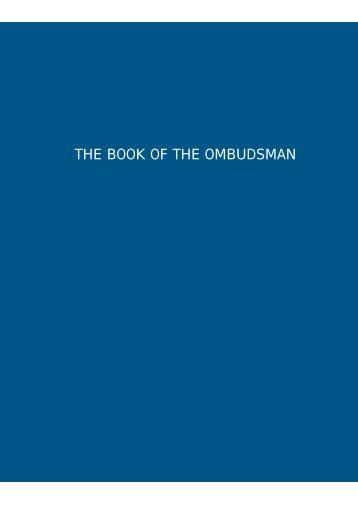 The book of the Ombudsman - Defensor del Pueblo