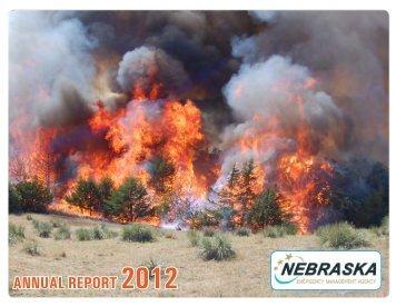 2012 Annual Report - Nebraska Emergency Management Agency ...