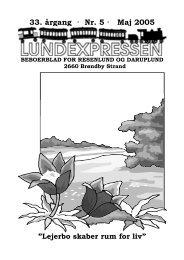 33. årgang · Nr. 5 · Maj 2005 - lundens.net