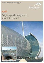 Belgisch productengamma voor dak en gevel - ArcelorMittal