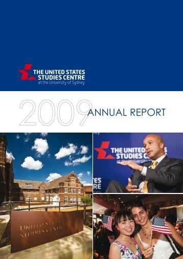 ANNUAL REPORT - United States Studies Centre