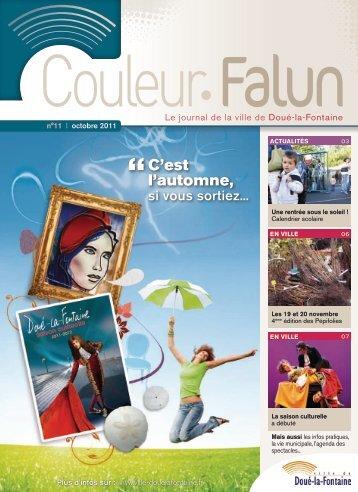 Couleur Falun 11 - Octobre 2011 [pdf - 3Mo] - Doué-la-Fontaine