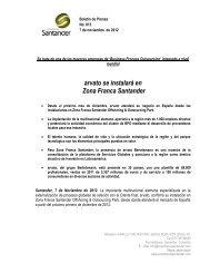 arvato se instalará en Zona Franca Santander - Andi