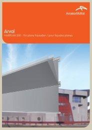 HAIRPLAN 300 - Für plane Fassaden / pour façades ... - ArcelorMittal