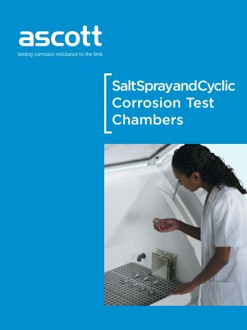 Salt Spray and Cyclic Corrosion Test Chambers - Labsys