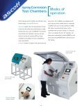 Salt Spray and Cyclic Corrosion Test Chambers - Labsys - Page 4