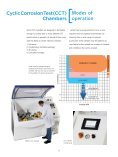 Salt Spray and Cyclic Corrosion Test Chambers - Labsys - Page 5