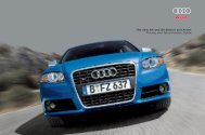 The new A4 and S4 Saloon and Avant Pricing and ... - Audi