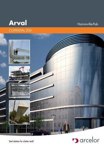 ARVAL - Cofradal 200 - 2006 - ArcelorMittal Construction Suisse SA
