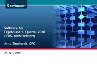 2009 - Software AG