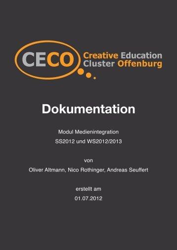 Über CECO - Studio M - an der Hochschule Offenburg