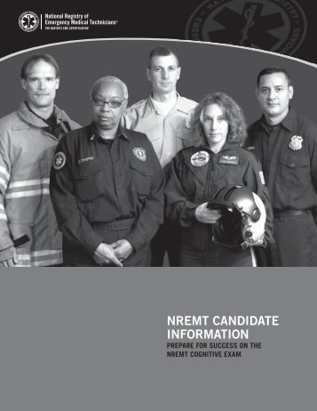 NREMT Candidate B&W web.indd - National Registry of Emergency ...