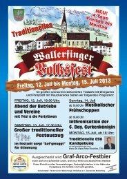 Komplettes Programm als PDF-Dokument - Volksfest Wallerfing