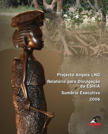 Projecto Angola LNG Relatório para Divulgação da ESHIA Sumário ...