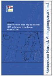 GNA HMS Incitament Rapport (pdf) - Statens vegvesen