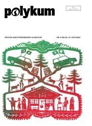 Zeitung der Studierenden an der etH nr. 9/08–09, 12. Juni 2009