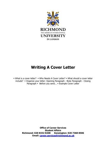 how do i write a good cover letter