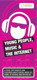 young people, music & the internet - Intellectual Property Office of ...