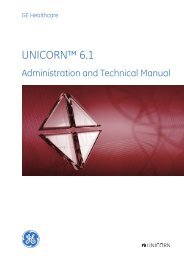UNICORN 6.1 Administration and Technical Manual