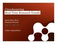 Crowdsourcing Real-Time Research Trends - University of Oxford