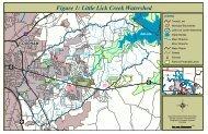 Figure 1: Little Lick Creek Watershed