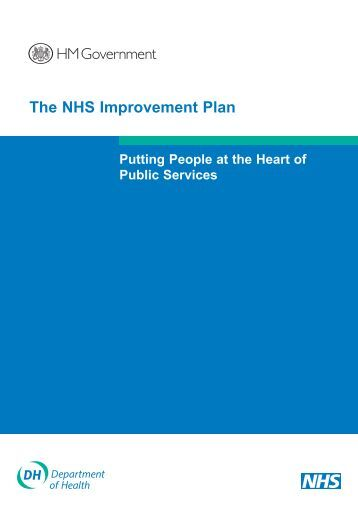 nhs and improvements The nhs institute is working with care homes and using experience to develop guidance and tools to support care homes to make improvements happen find out more finance/clinical partnership.