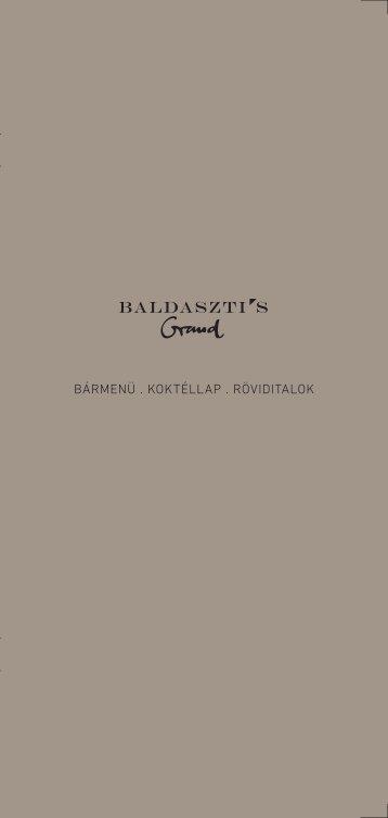 BÁRMENÜ . KOKTÉLLAP . RÖVIDITALOK - Baldaszti.com