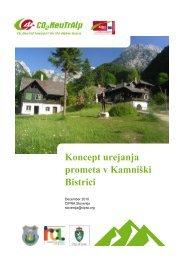 Koncept urejanja prometa v Kamniški Bistrici