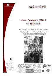 sm.art Seminare 2/2011 für ESSperten - Quetheb