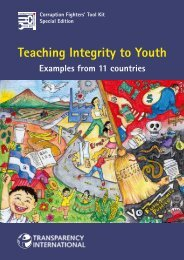 Teaching Integrity to Youth - Examples from 11 Countries - nnngo