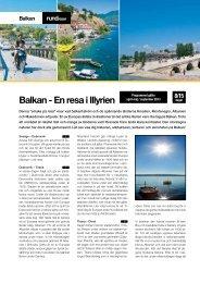 Balkan - En resa i Illyrien - Solresor