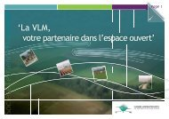 La VLM, votre partenaire dans l'espace ouvert