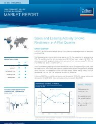 MARKET REPORT - Colliers International