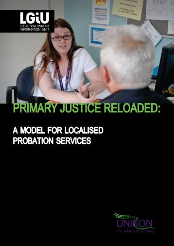 Primary Justice Reloaded: a model for localised probation ... - LGiU