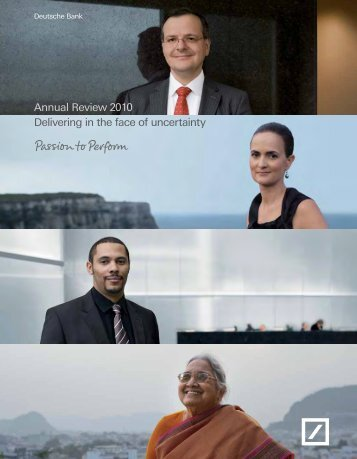 Annual Review - Deutsche Bank