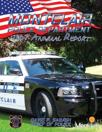 CHIEF OF POLICE - Montclair Township