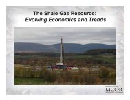 The Shale Gas Resource: Evolving Economics and Trends