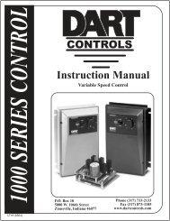 1000 Manual - Dart Controls