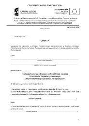 Załącznik nr 3 - Powiatowe Centrum Pomocy Rodzinie w Gorlicach
