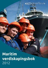 Maritim verdiskapingsbok - Norges Rederiforbund